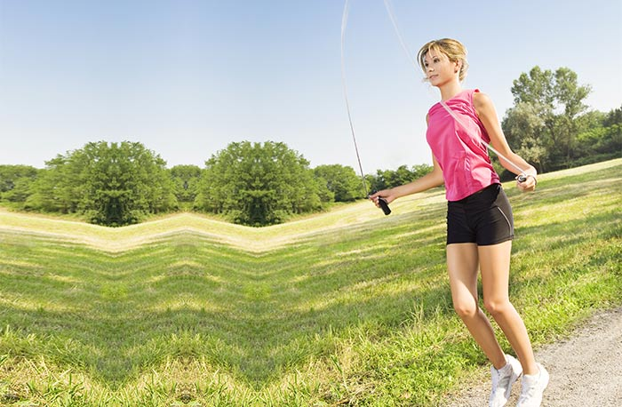 Aerobic And Anaerobic Exercises - Jumping Rope