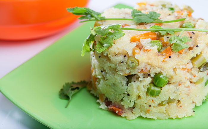 Karnataka Upma With Coconut