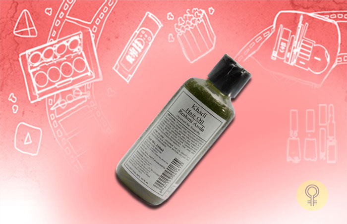 Khadi Amla Brahmi Hair Oil
