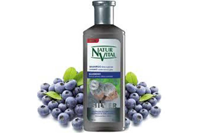 Natural Vital Shampoo For White And Gray Hair