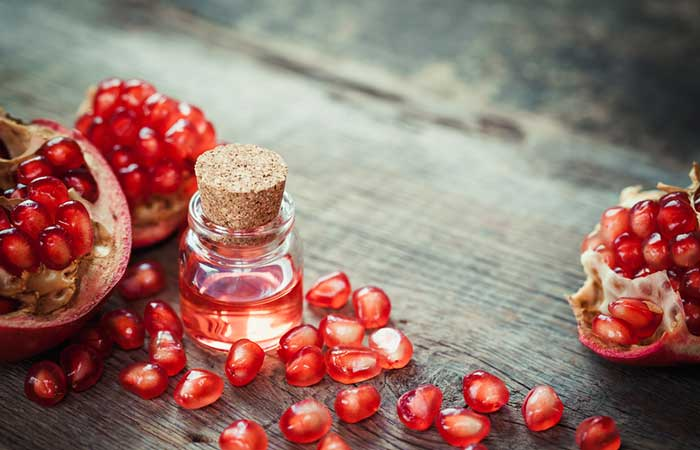 Best Essential Oils For Skin Care - Pomegranate Oil For Preventing Photoaging