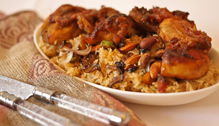 Roasted Chicken Al-Kabsa