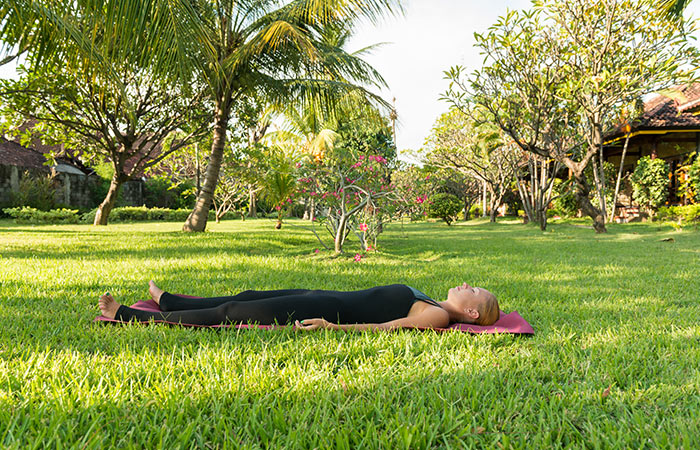 Shavasana - Yoga Routine To De-Stress