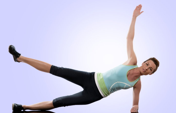 Exercises To Reduce Side Fat - Side Plank Circles