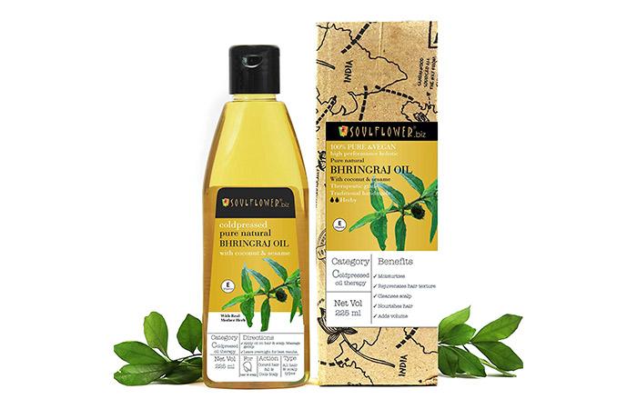 Soulflower Bhringraj Oil