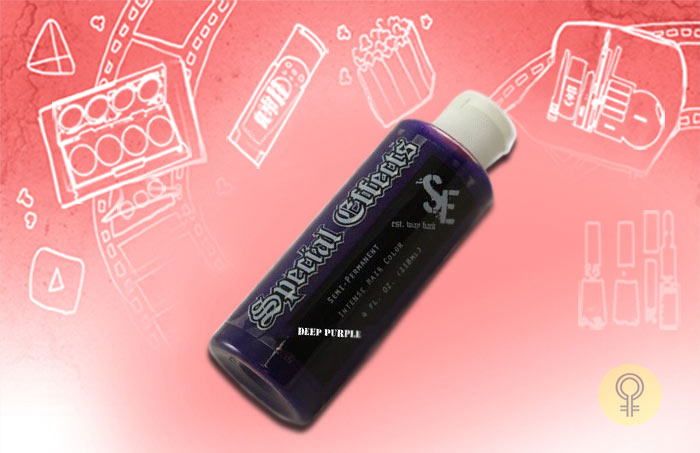 Special Effects SFX Hair Color Hair Dye Pimpin Purple