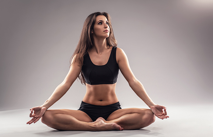 Sukhasana - Yoga Routine To De-Stress