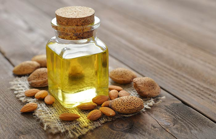 Sweet Almond Oil - Home Remedies To Get Soft Hands