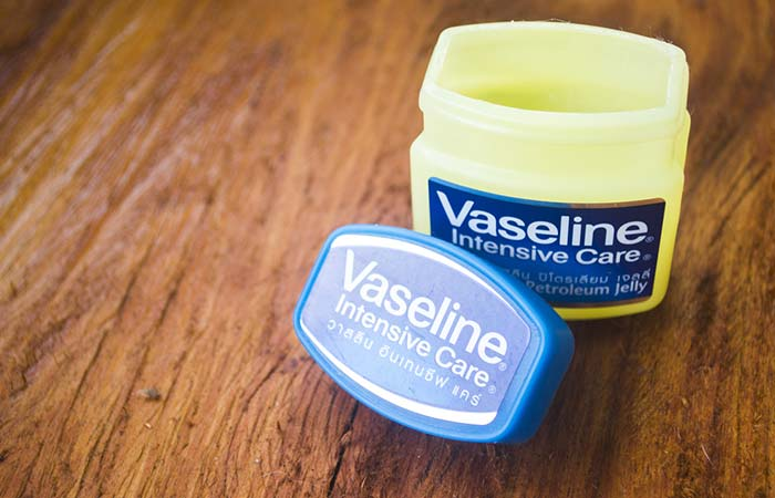 Vaseline (Petroleum Jelly) - Home Remedies To Get Soft Hands