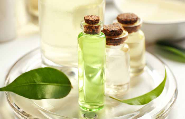 Home Remedies For Cellulitis - Tea Tree Oil