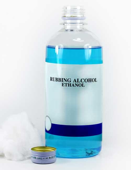 10. Rubbing Alcohol