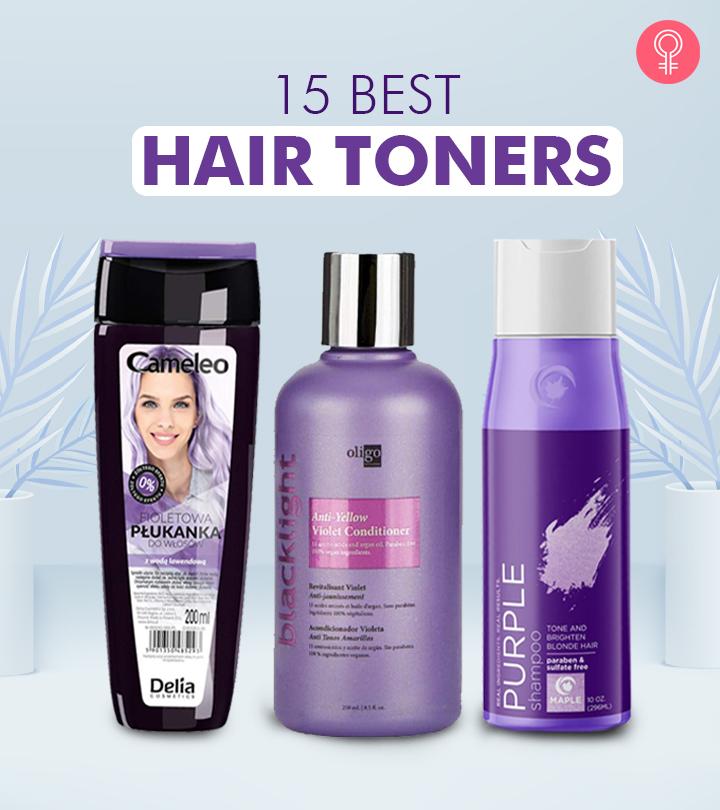 15 Best Hair Toners To Maintain White Hair