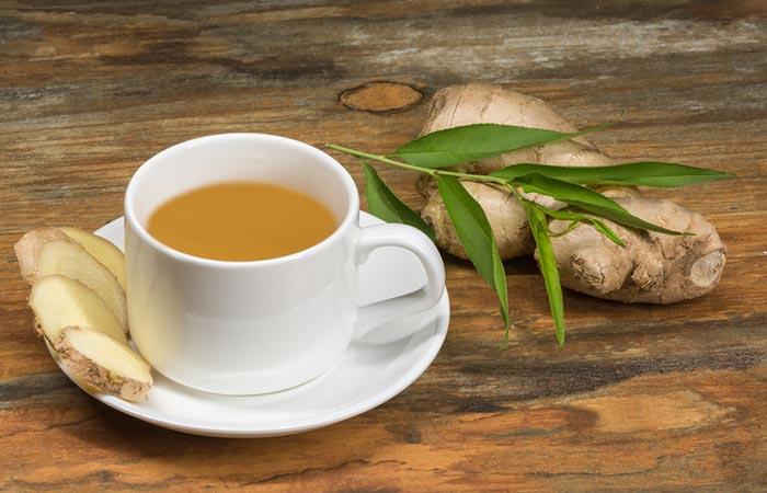 Castor Oil & Ginger Tea To Lose Belly Fat
