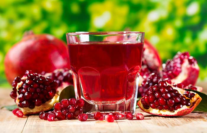 3. Pomegranate Juice