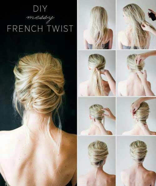 4. The French Twist Updo