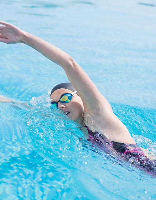 Cardio Exercises For Weight Loss - Swimming