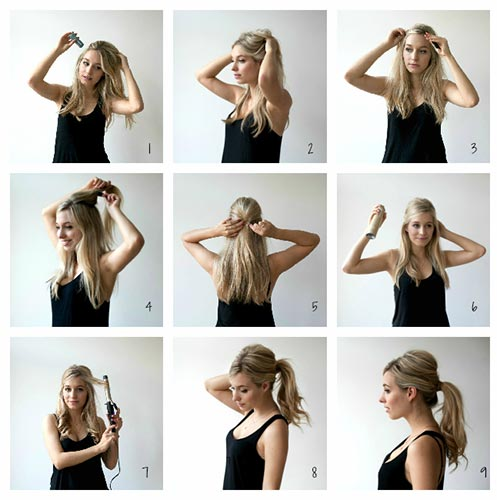 5. The Puffy Ponytail