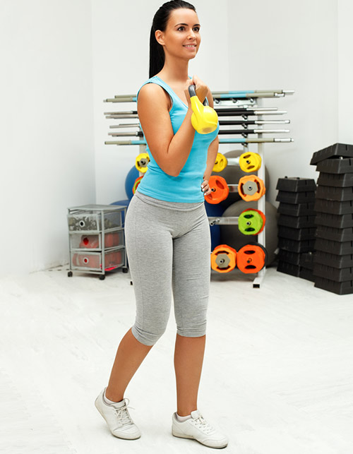 Cardio Exercises For Weight Loss - Kettlebells