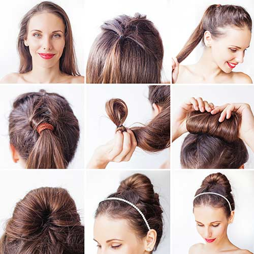 8. The Korean Bun Updo