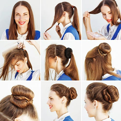9. The Elegant Bun Updo