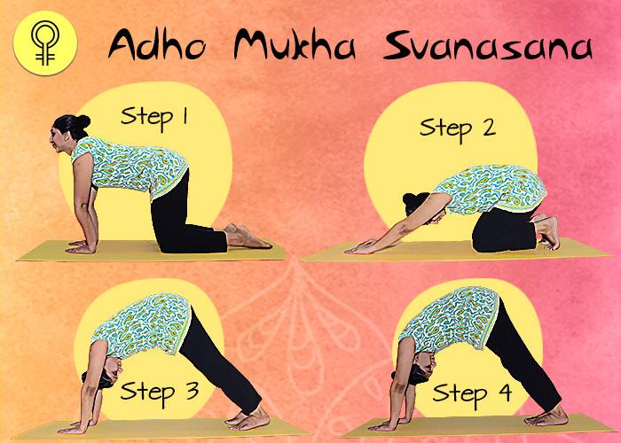 Adho Mukha-Svanasana To Cure Irregular Periods and Menstrual Pain