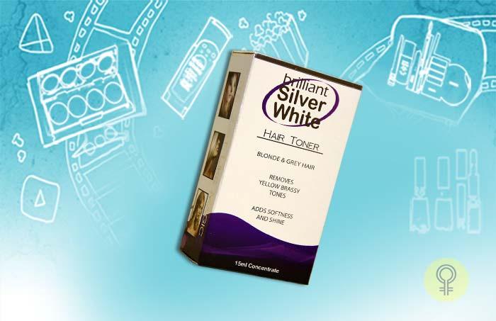 Silver White Hair Toner