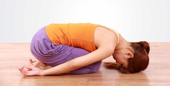 Child's Pose Or Balasana