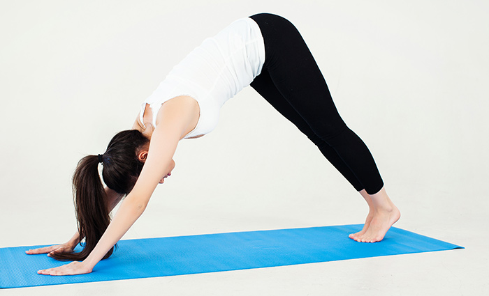 Downward Dog Pose (Adho Mukha Svanasana)