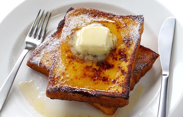 Alkaline Breakfast Recipes - French Toast