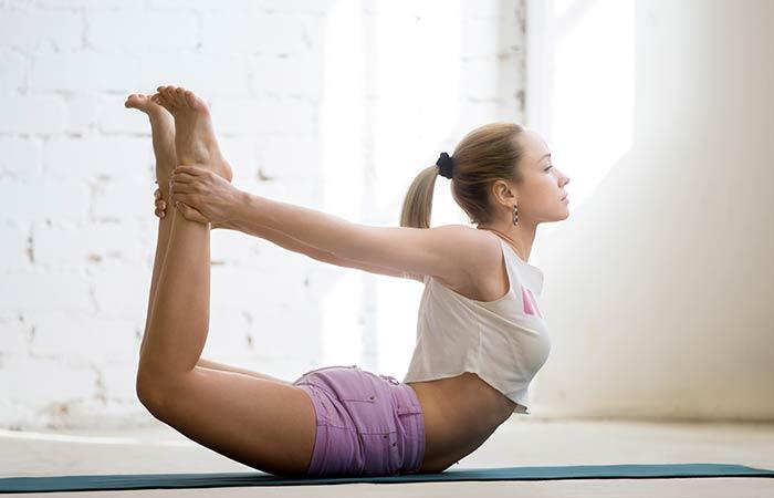 Dhanurasana - Yoga for cold