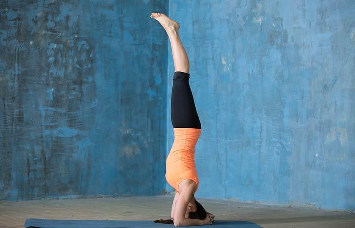 Salamba Sirsasana - Yoga for Cold