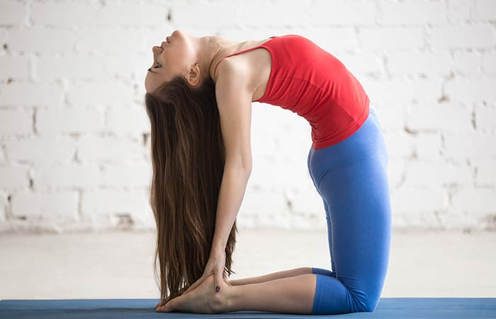 Ustrasana - Yoga for Cold