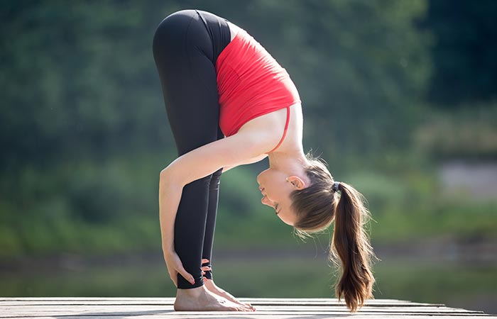 Uttanasana - Yoga for Cold