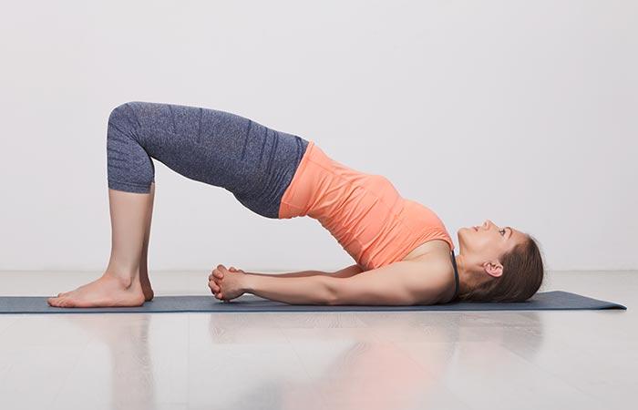 Setu Bandhasana - Yoga for cold