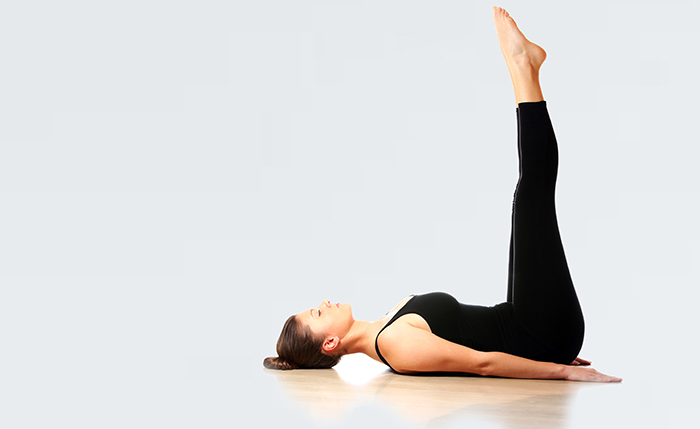 Lower Abs Workout For Women - Leg Drop