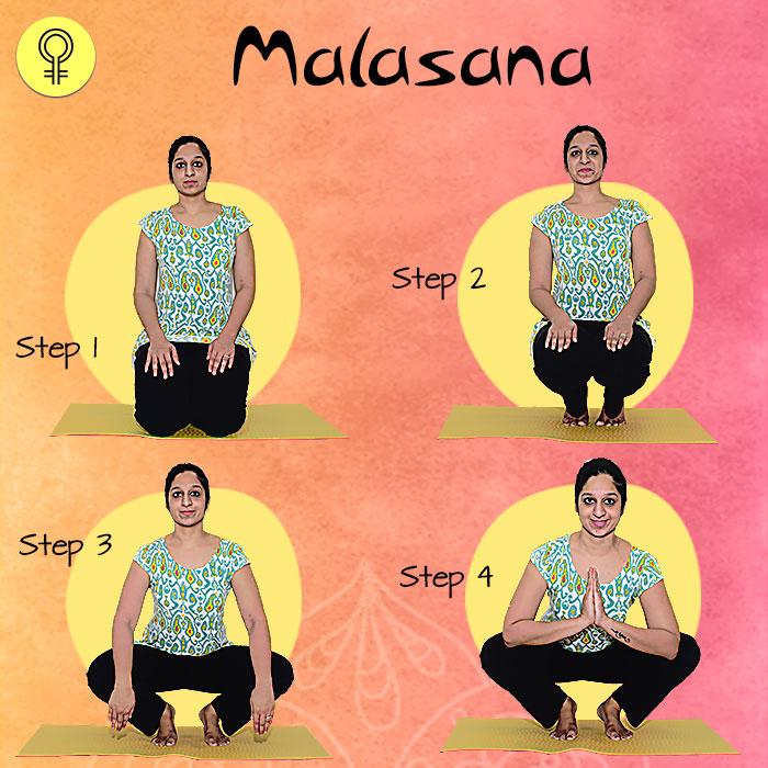 Malasana To Cure Irregular Periods and Menstrual Pain