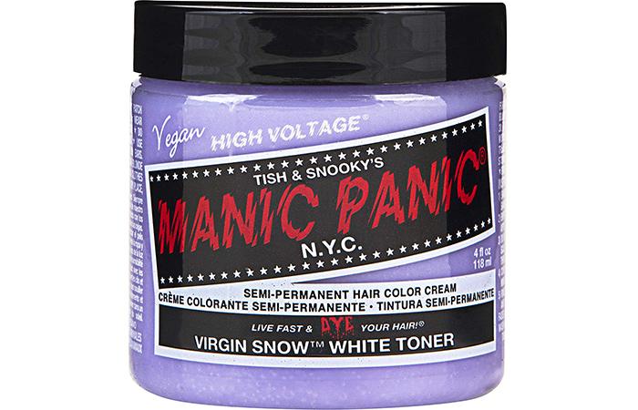 Manic Panic Virgin Snow™ (Toner) – Classic High Voltage