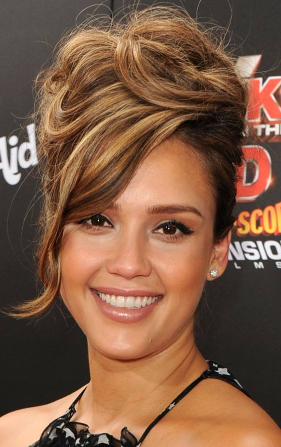 10 Messy Updos For Long Hair