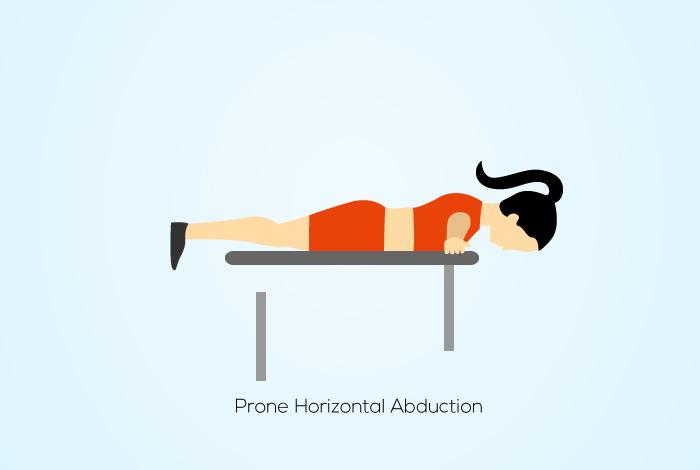 Prone Horizontal Abduction