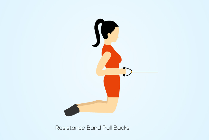 Resistance Band Pull Backs