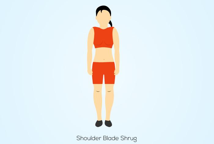 Shoulder Blade Shrug