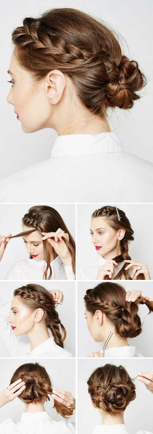 The Braid Wrap Bun
