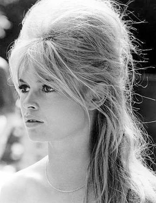 The Brigitte Bardot Half Updo