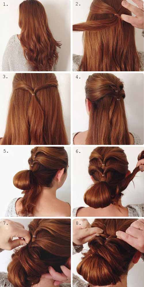 Updo Hairstyles - The Complicated Twisted Sister