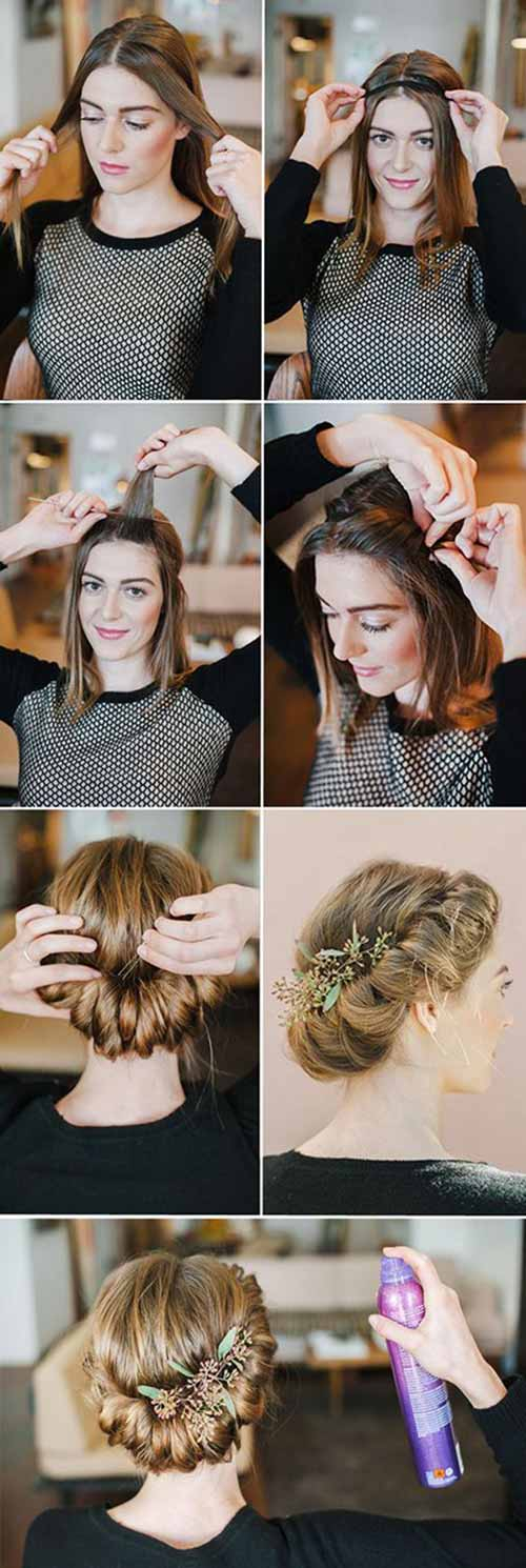 Updo Hairstyles - The Great Gatsby