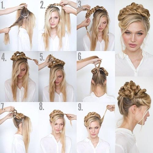 The Posh Mess Updo