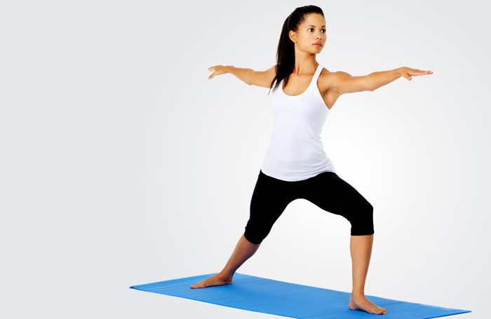 Warrior Pose Or Virabhadrasana