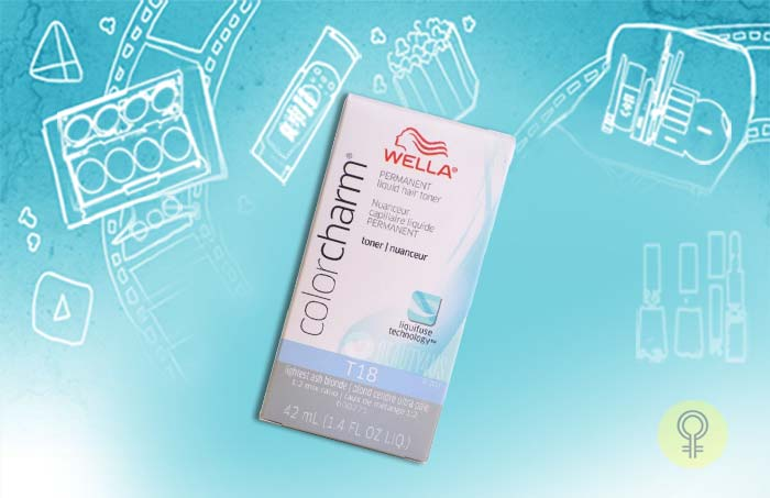 Wella Colour Charm T18 White Lady