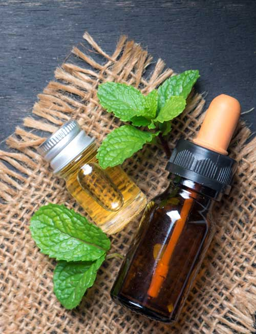 Belly Button Infection - Peppermint Oil
