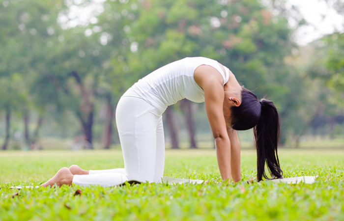Marjariasana - Yoga Asana To Treat Acid Reflux